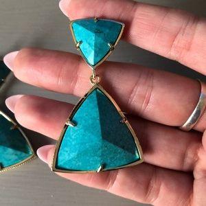 Kendra Scott Jewelry - Kendra Scott turquoise earrings